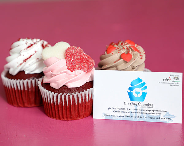 Red Velvet Cupcakes from Sweetheart Assortment