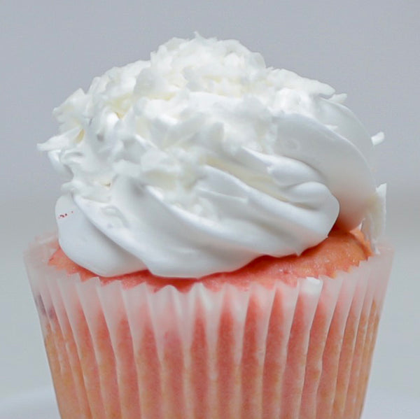 Strawberry Cream Cupcake