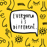 'Everyone is different' - A little book with a BIG message 🌈