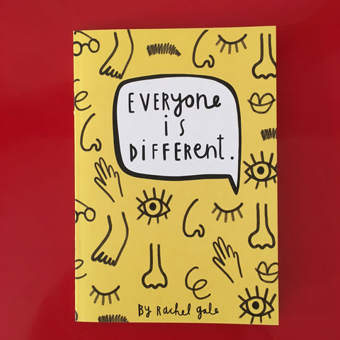 My Book - 'Everyone is different'