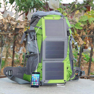 Hiking Backpack  with 6.5w Solar triple panel