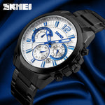 SKMEI™   Full Steel Business Quartz-Watch