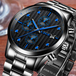 LIGE™  Top Brand Luxury Mens Watch