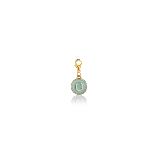 The Omnia Design Company Alphabet Charm in Light Blue