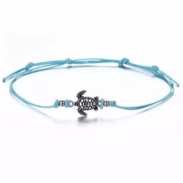 The Omnia Design Company Bracelets Blue Turtle Bracelet
