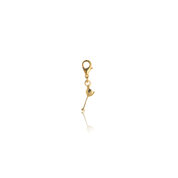 The Omnia Design Company Bracelets Wine Glass Charm The Omnia Design Company