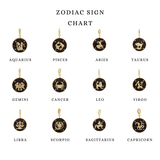 Madiha Jaipur Charm Zodiac Charm Necklace The Omnia Design Company