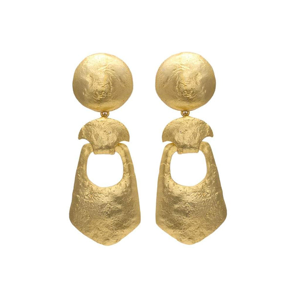 Te Maya Earrings Bold Danglers The Omnia Design Company