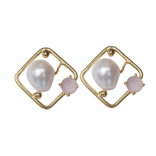 ANTARES Earrings Pearl Stud Earrings