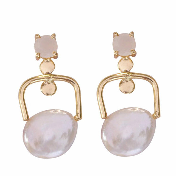 ANTARES Earrings Stud and Drop Pearl Earrings