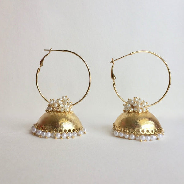 In Stock Earrings The Hayaat Earrings The Omnia Design Company