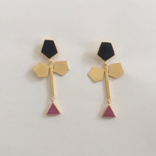 In Stock Earrings The Rebeca Earrings The Omnia Design Company