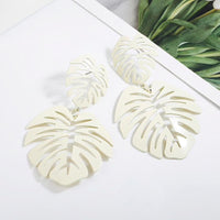 In Stock Earrings White Lead Earrings