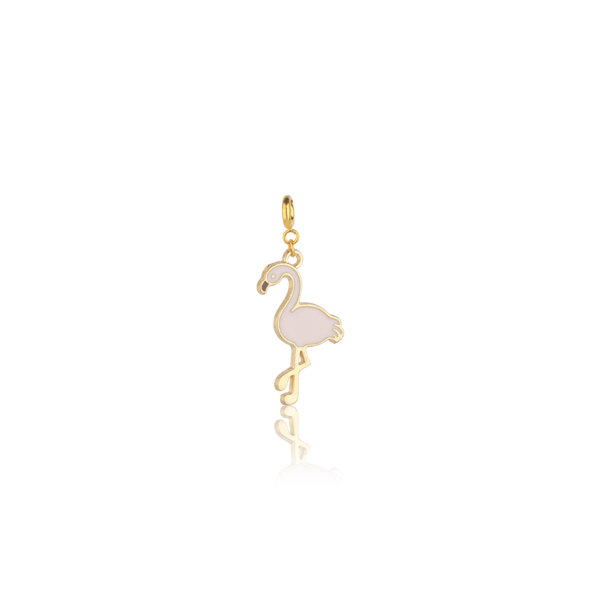 The Omnia Design Company Flamingo Charm