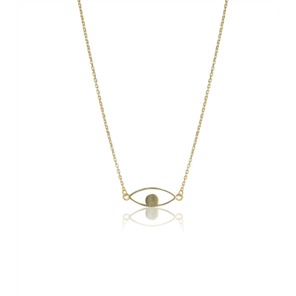 The Omnia Design Company Necklace Gold Evil Eye Necklace The Omnia Design Company