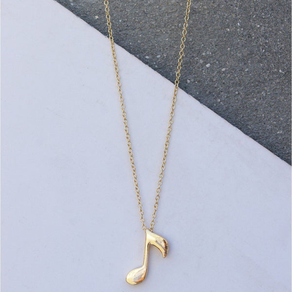 In Stock Necklace Key Note Necklace The Omnia Design Company