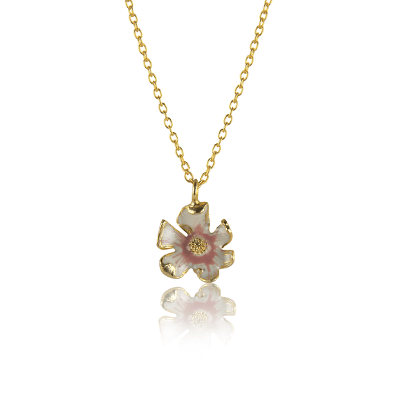 In Stock Necklace Orchid Necklace
