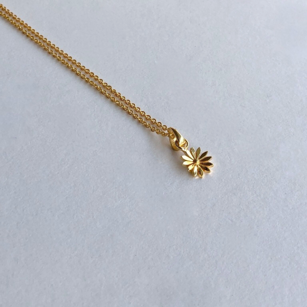 In Stock Necklace Origami Flower Necklace