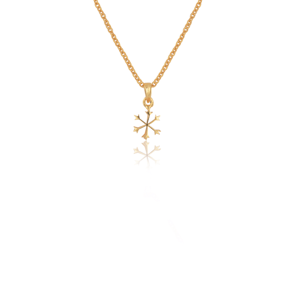 In Stock Necklace Snow Flake Necklace