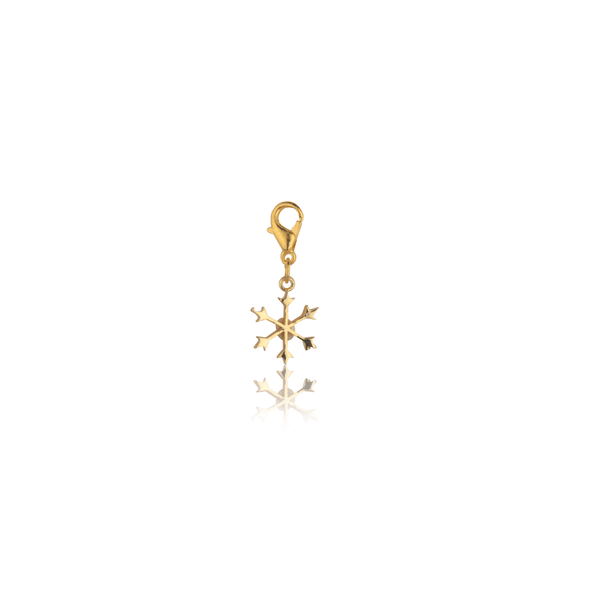 The Omnia Design Company Snowflake Charm