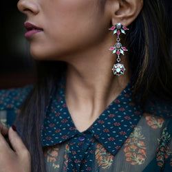 In Stock The Beenaz Earrings The Omnia Design Company