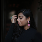 In Stock The Namrita Earrings The Omnia Design Company