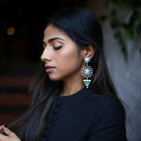 In Stock The Saryu Earrings The Omnia Design Company