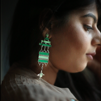 In Stock The Tarana Earrings The Omnia Design Company
