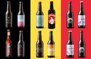 Load image into Gallery viewer, UNITED BEERS OF BELGIUM - 12 pack - Long neck bottles