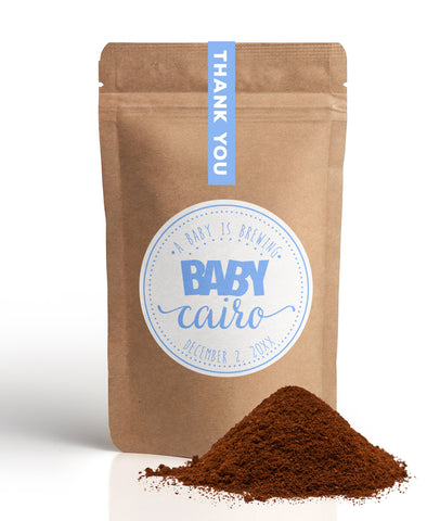 Baby is Brewing Favor Bags CFB-03