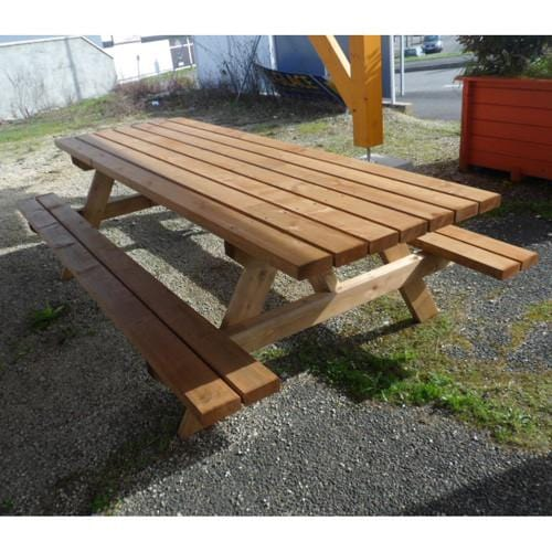 Table de camping 261 cm