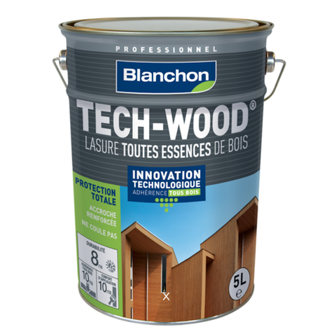 LASURE BLANCHON TECH-WOOD 5L