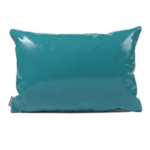 Rectangular Teal Cushion