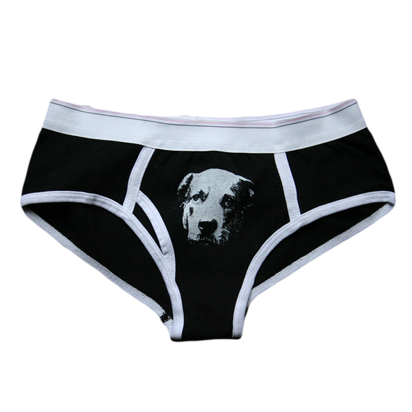 Dog Underwear Black