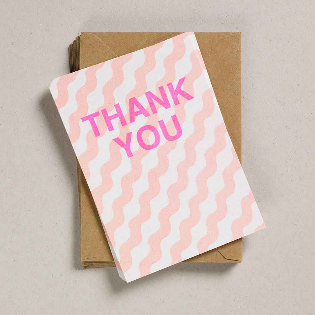A6 Party Invites & Thank You Cards - Orange Wiggles
