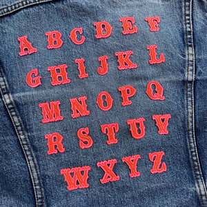 Alphabet Patches