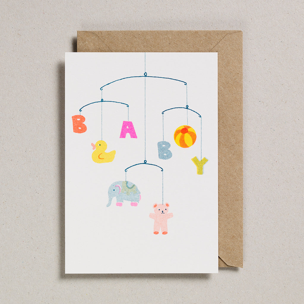 Riso Baby Card - Baby Mobile