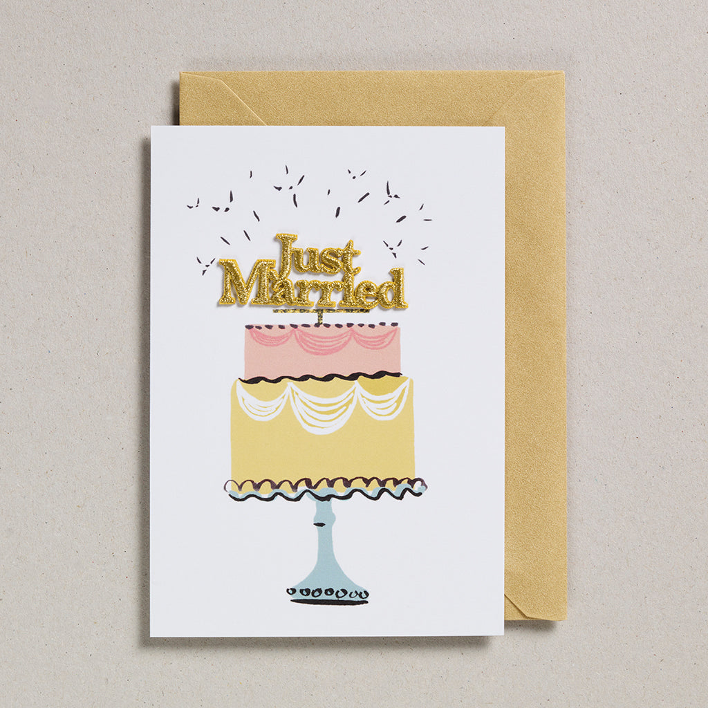 Cake Card - Just Married