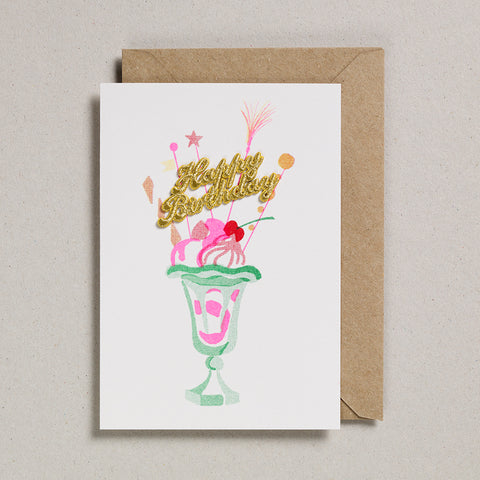 Cake Card - Happy Birthday - Knickerbocker