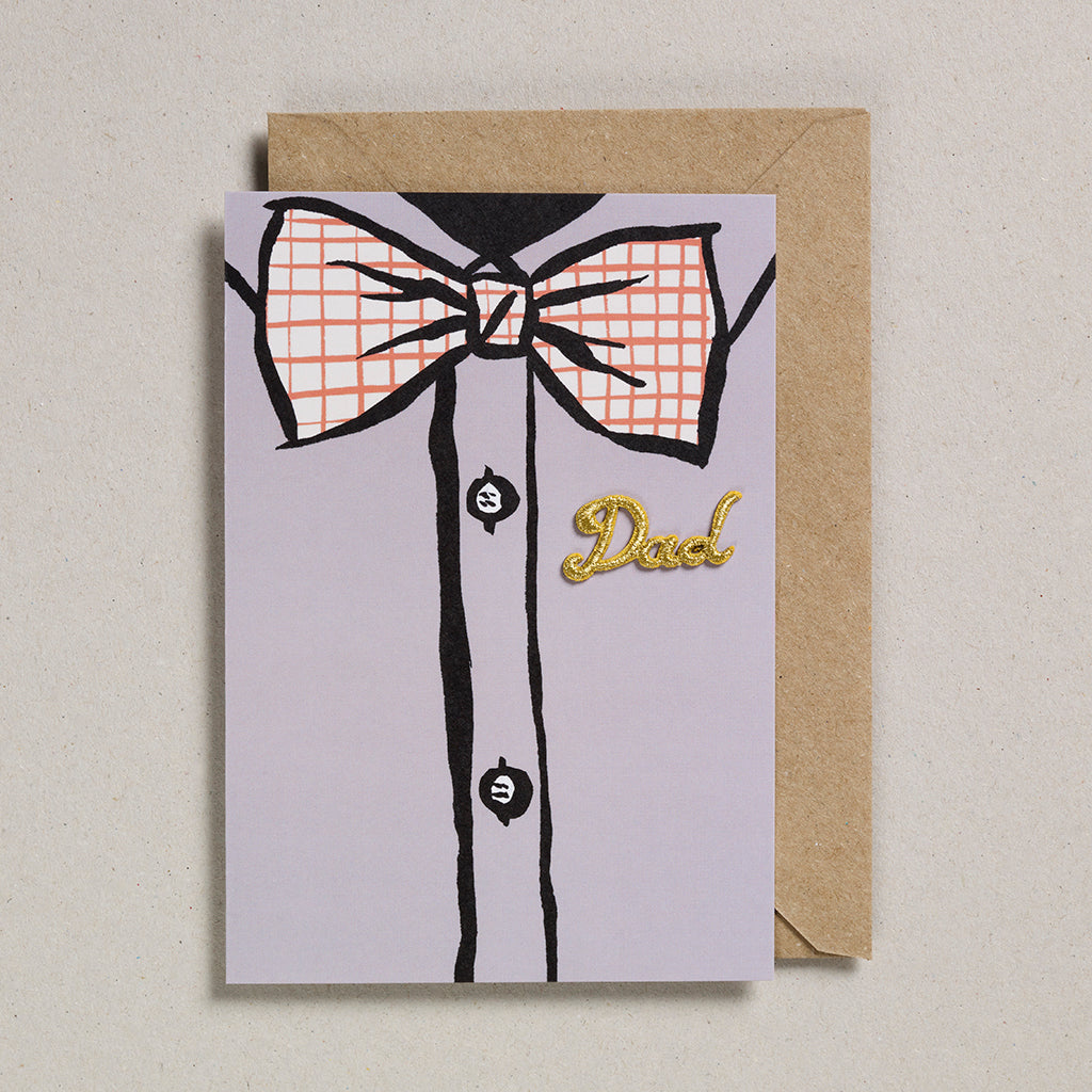 Dad Card (Pack of 6) - Bow Tie