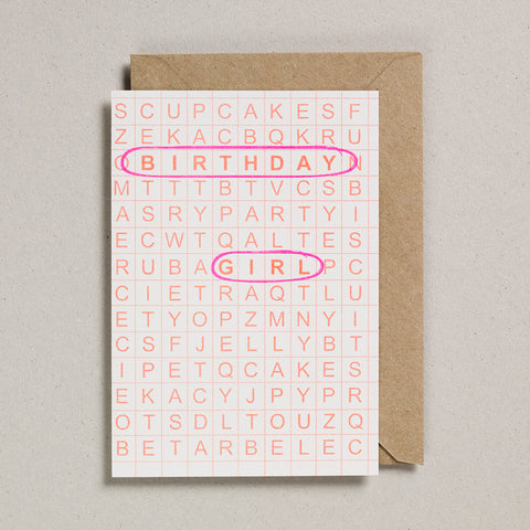Grid Cards - Birthday Girl