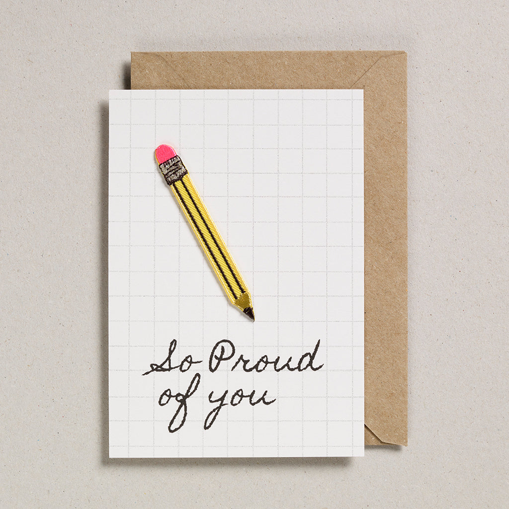Write On With Cards - Pencil (Proud)