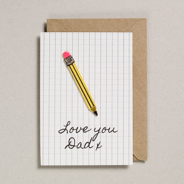 Write On With Cards - Pencil (Dad)
