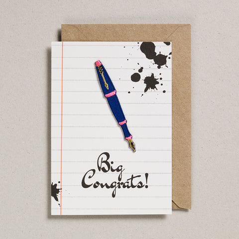 Write On With Cards - Fountain Pen (Congrats)