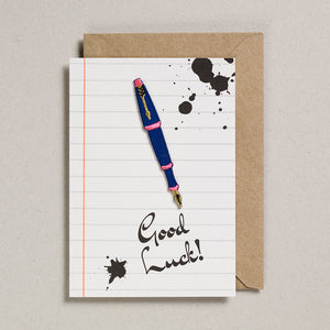 Write On With Cards - Fountain Pen (Get Luck)