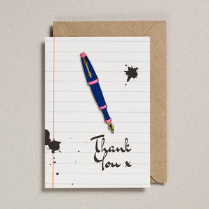 Write On With Cards - Fountain Pen (Thanks)