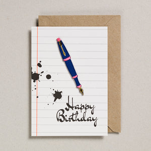 Write On With Cards - Fountain Pen (Birthday)