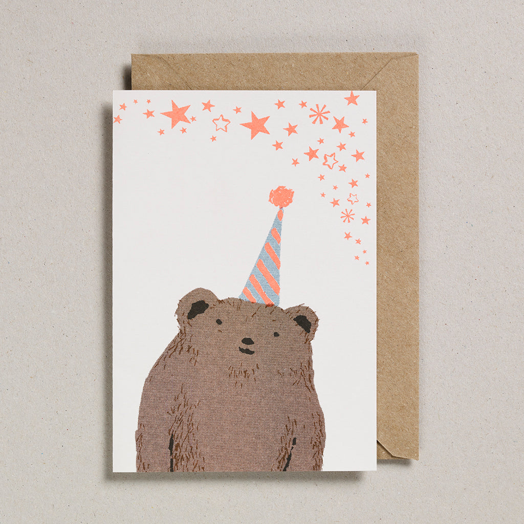 Riso Pets Card - Bear