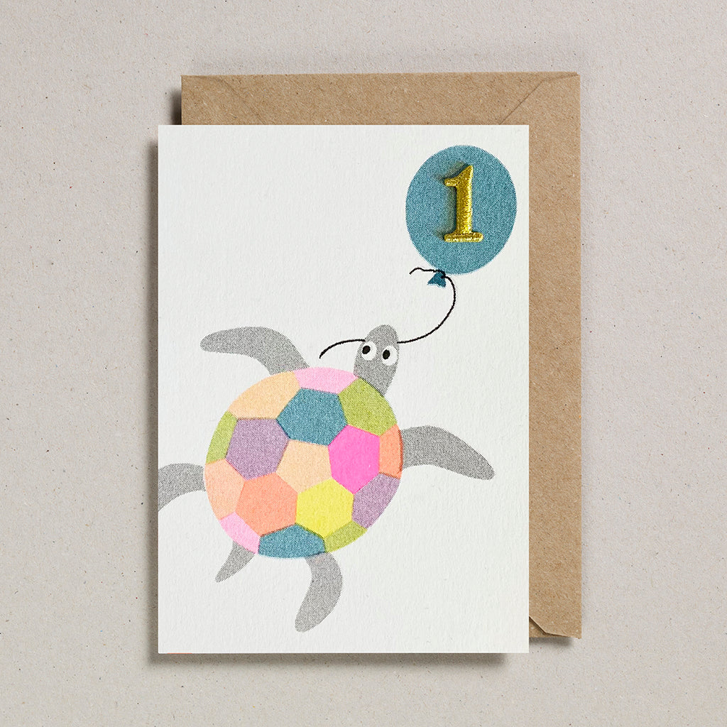 Riso Pets Card - Turtle (Age 1)