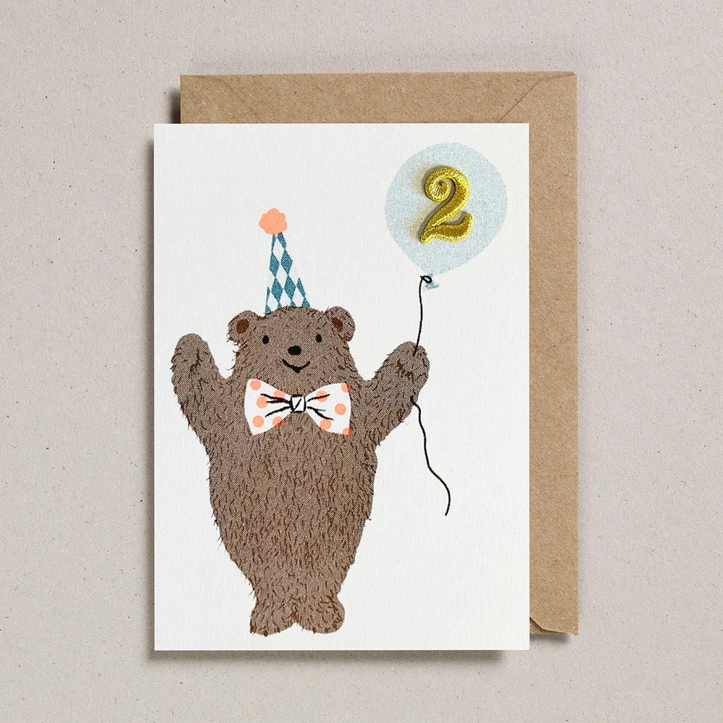 Riso Pets Card - Bear (Age 2)